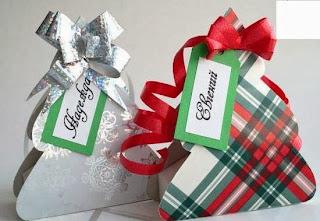 Caja árbol de Navidad para Imprimir Gratis.