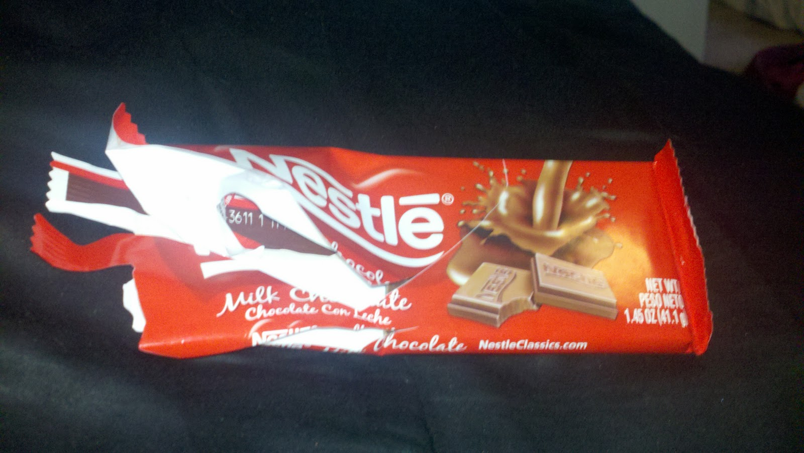 Sweet Treat Review  Nestle s Milk Chocolate BarNestle Milk Chocolate Bar