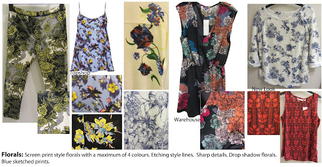 floral etching, sketchy florals, floral fabric, floral prints