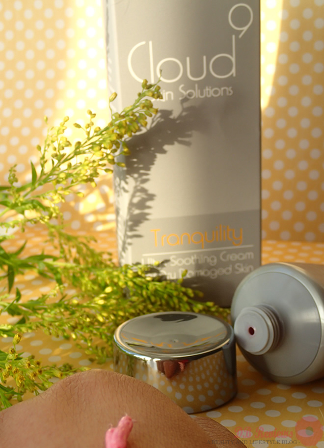 Cloud 9 Tranquility Ultra Soothing Cream