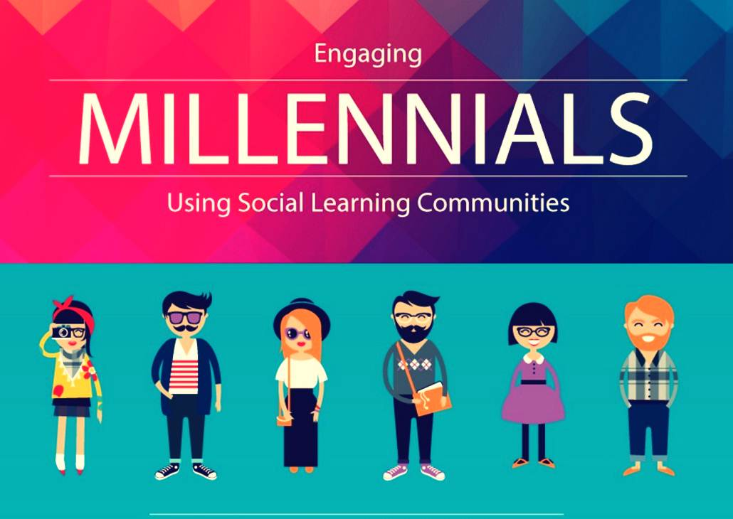 Engaging Millennials Using Social Learning Communities - infographic