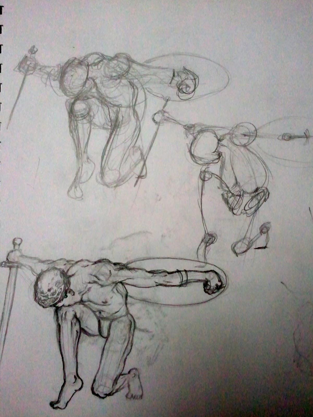 Anim8r X: Anatomy Studies (Contours and Shading)