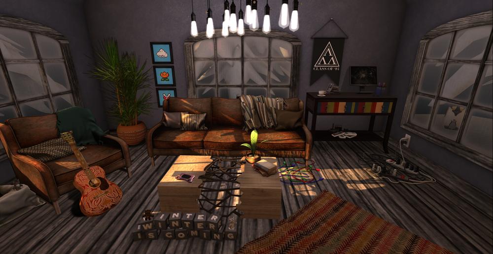 Cosmopolitan geeks nerds for Geek living room ideas