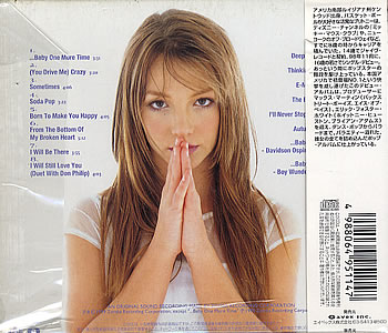 Britney Spears Baby One More Time Album PhotoBritney Spears Baby One More Time Album Cover