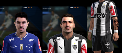 PES 2013 New Facepack by Bruno7Facemaker