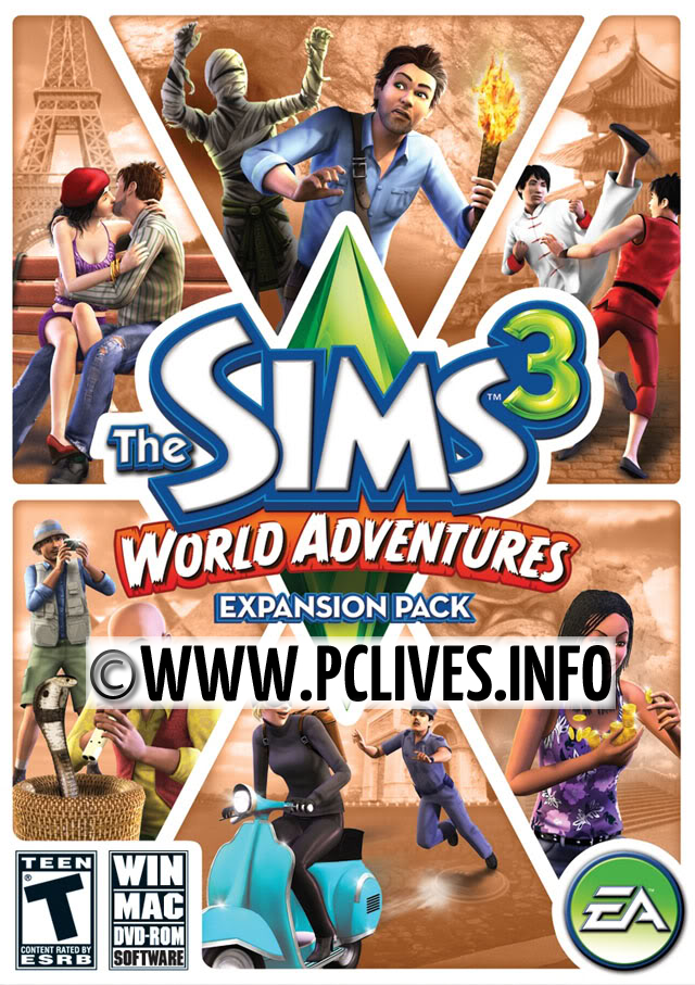how to get full and free The Sims 3: World Adventures pc game