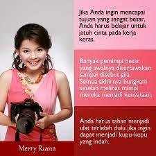Kisah kesuksesan Merry Riana