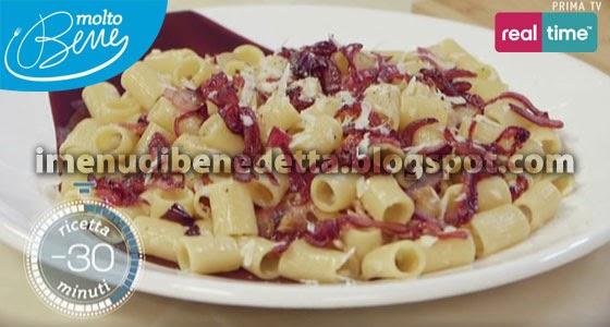 Pasta alla Gricia con Cipolle Caramellate di Benedetta Parodi