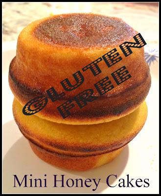 gluten free honey cakes