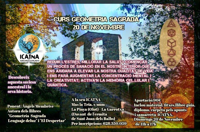 Curso Geometría Sagrada ICATNA - 20 de Noviembre