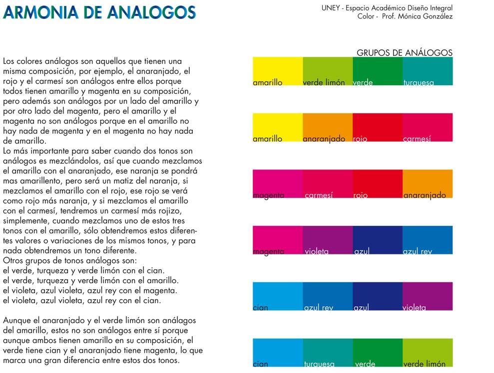 Armonías de Análogos - Armonía de Fríos | coloruney