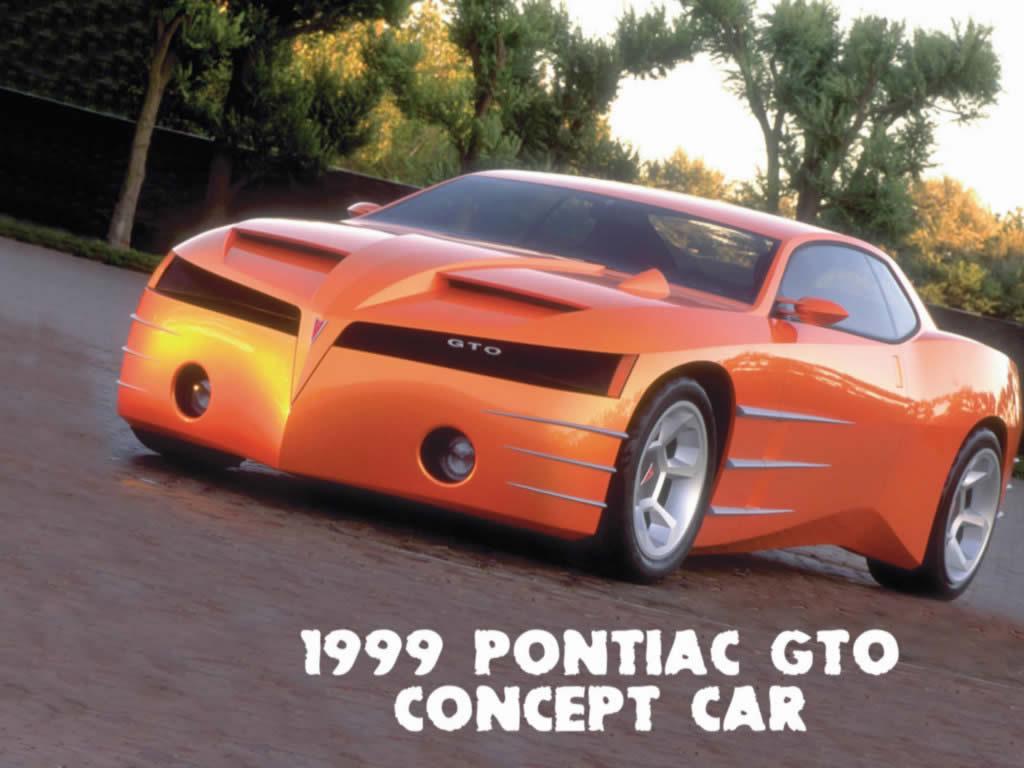 Pontiac GTO 1999 Concept Car
