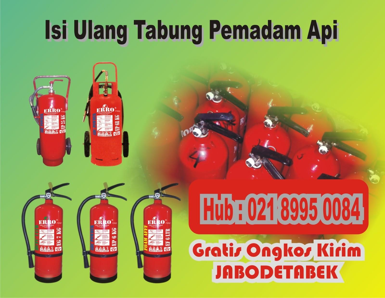 Refill tabung pemadam api ringan (apar)