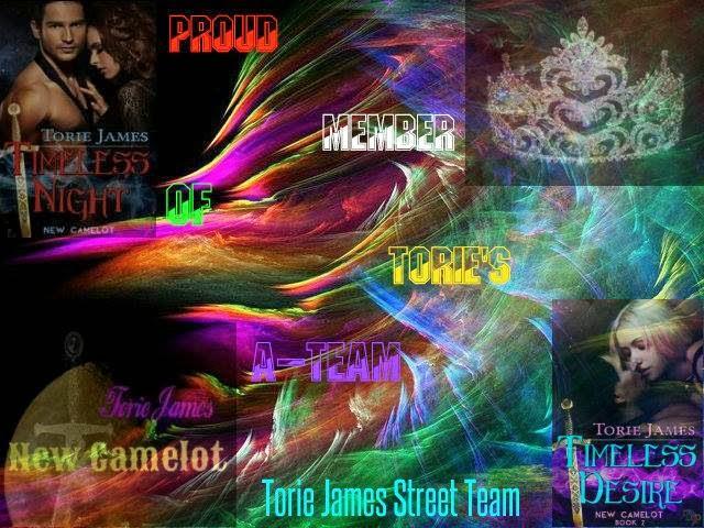 Torie James Street Team member