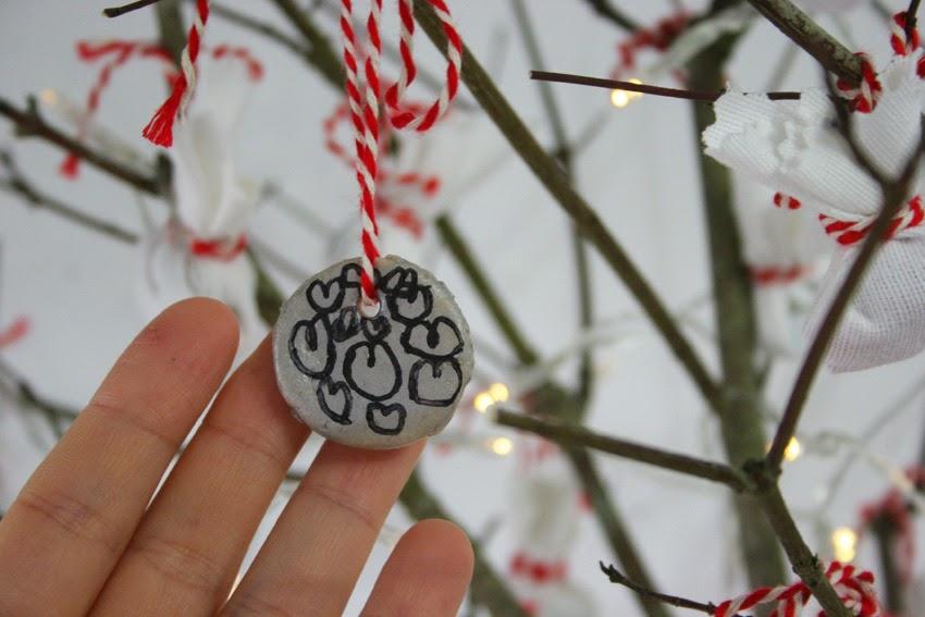 El árbol de navidad handmade de Decorar en familia - Adornos navideños con pasta de sal4
