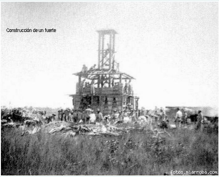 Construcción de un fortín