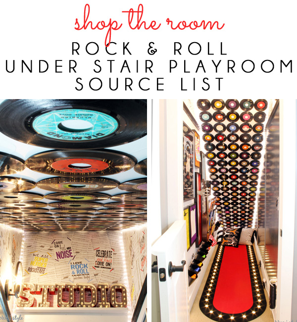 Under Stair Playroom Source List
