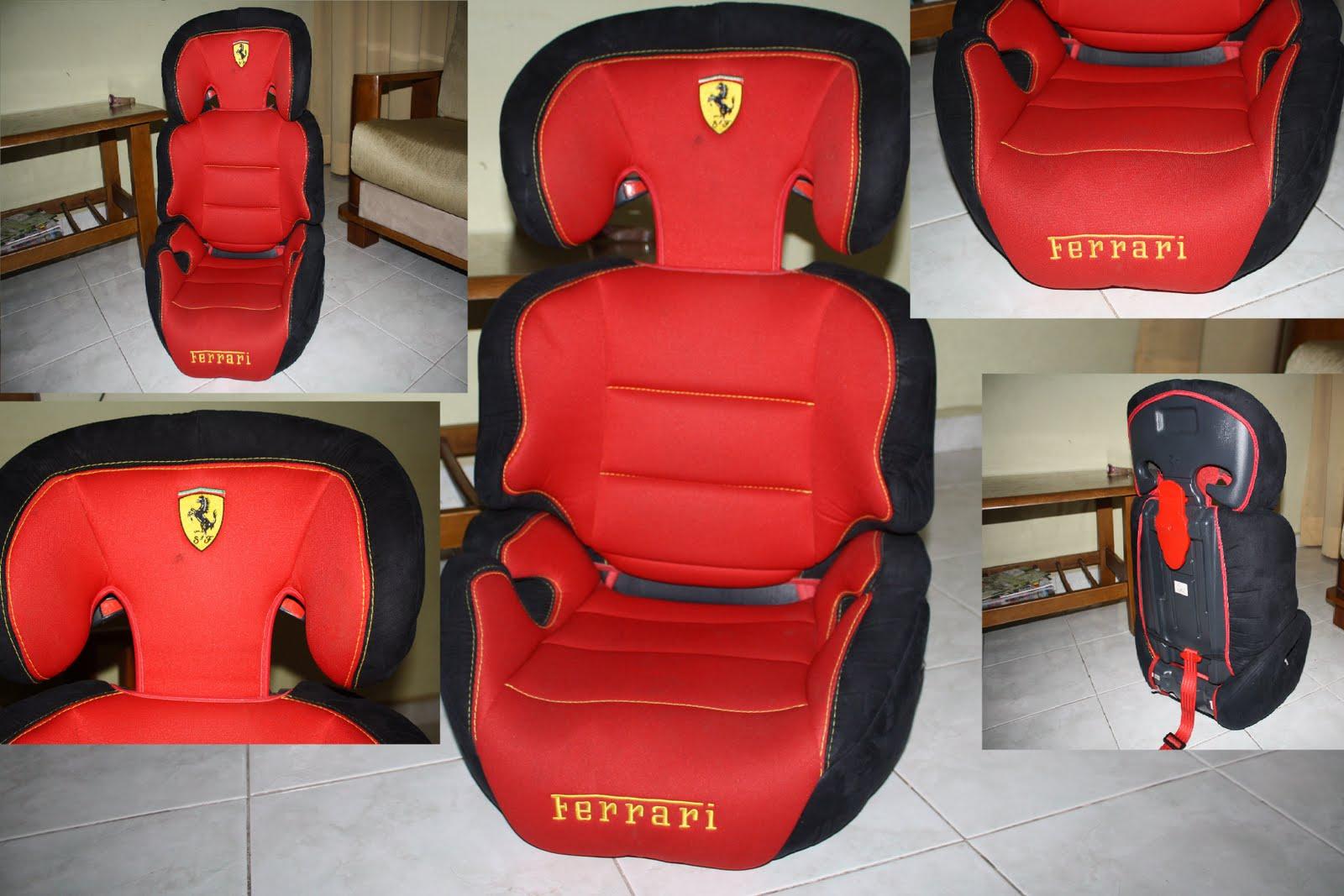 //Letsgrab.blogspot.com: Ferrari Alto Dreamway SP Booster Car Seat