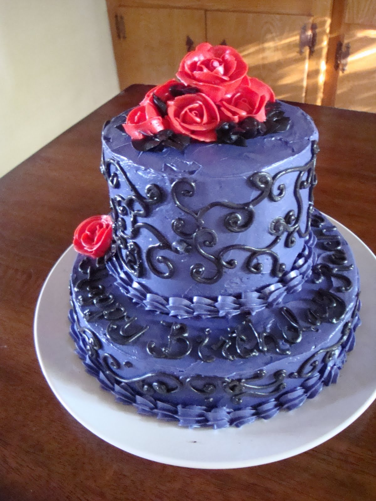 The Jaded Spoon Rachels Birthday Cake