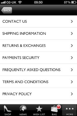 Net A Porter app