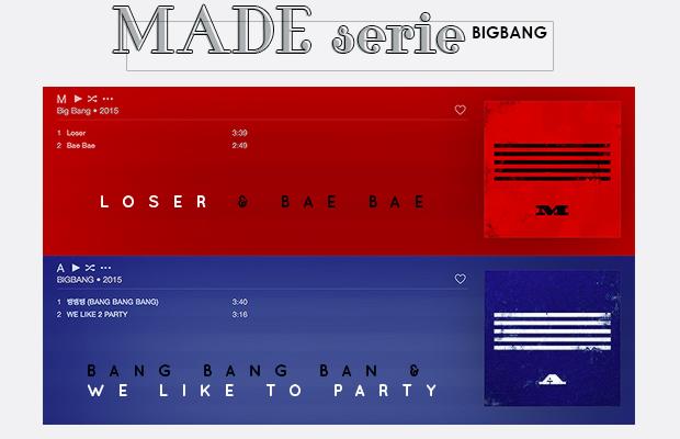 bigbang, we like to party, bang bang bang, loser, bae bae, made serie, made serie M, made serie A,