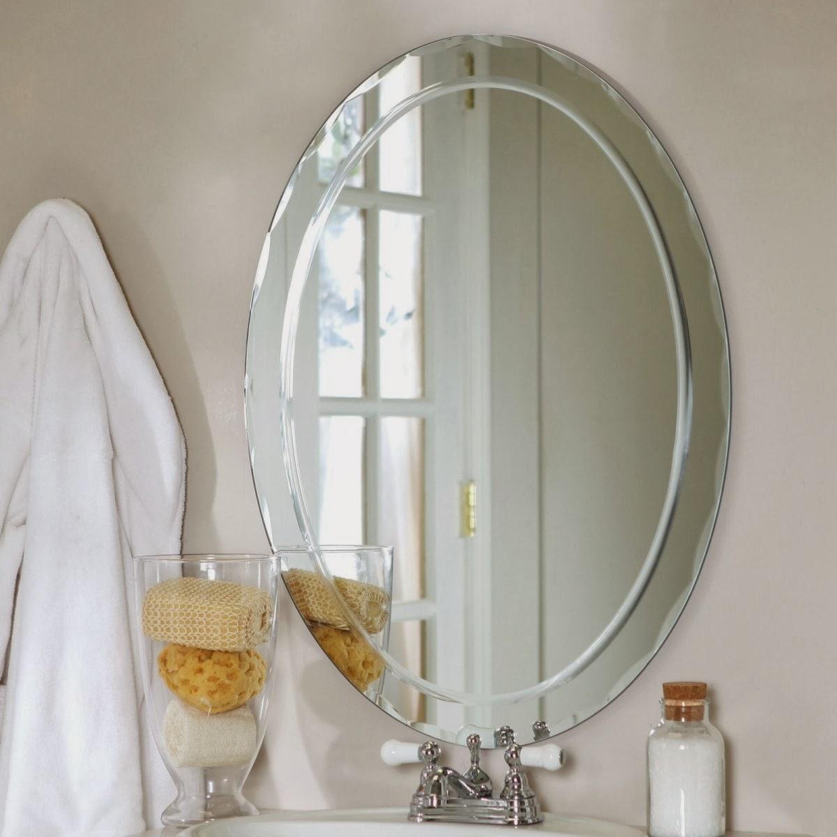 Round Bathroom White Framed Bathroom Mirrors 36 Quot X 36 Quot Framed M Bathroom