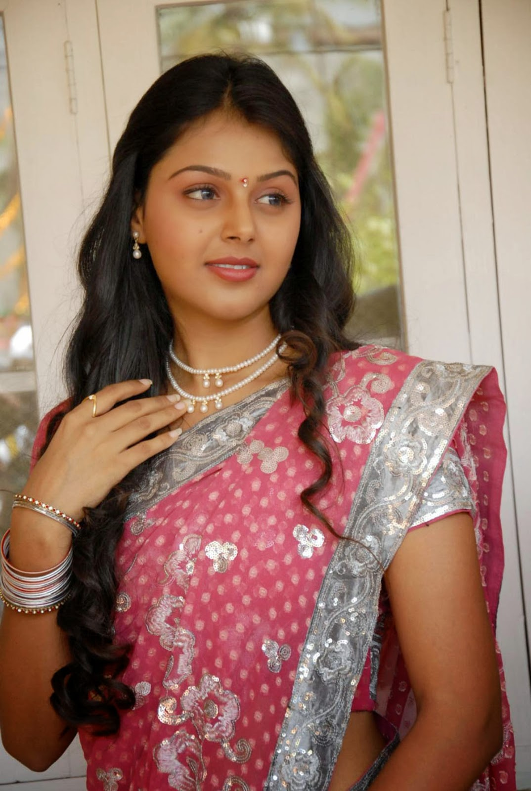 Sexy south indian house wife monal gajjar saree wear for Indian hot house