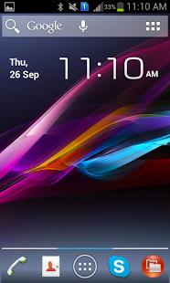 Xperia Z HD Theme v1.0 Apk (Theme)