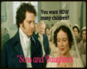"""SONS AND DAUGHTERS"" a very funny sequel to DARCY AND FITZWILLIAM"