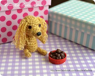 perro amigurumi personalizado