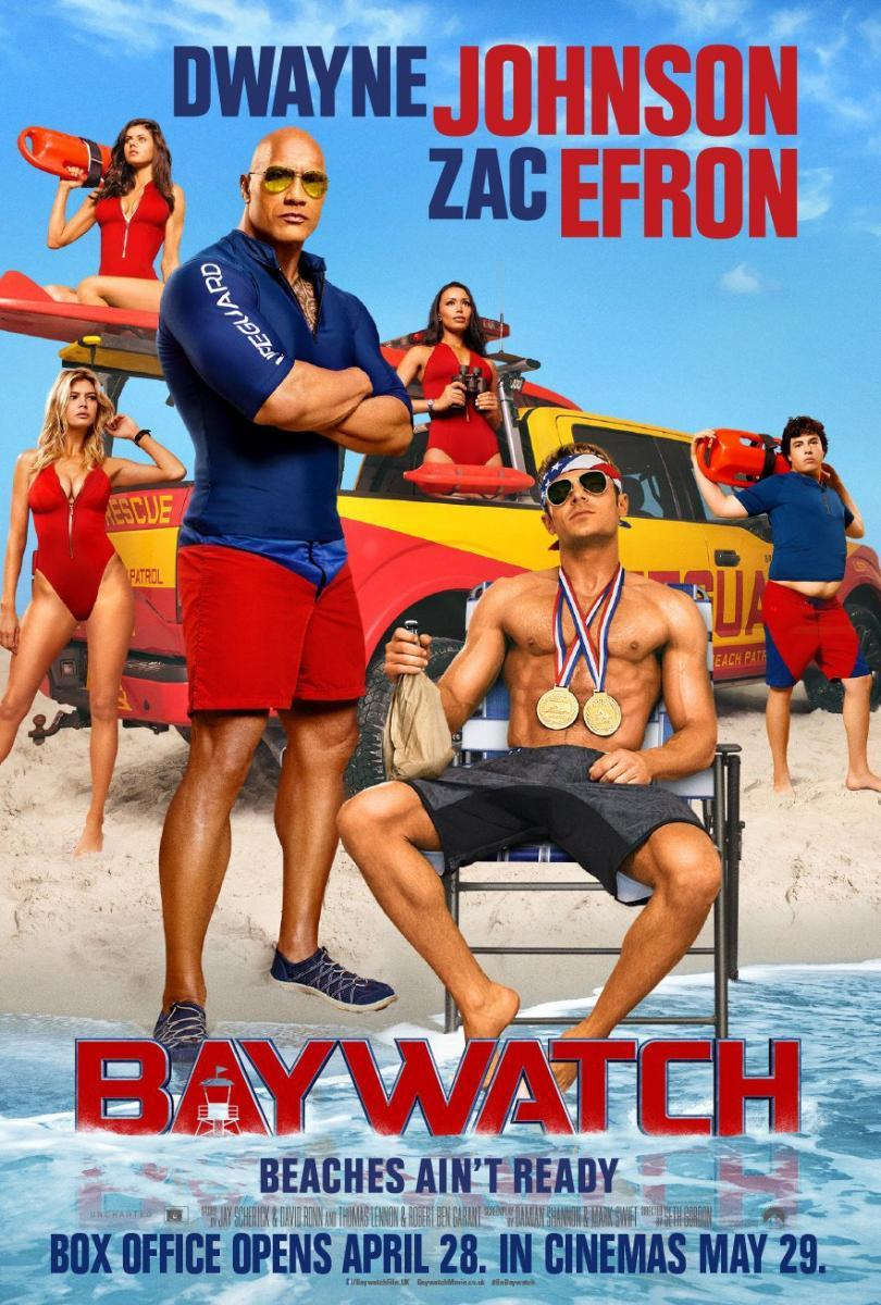 Baywatch: Guardianes de la Bahía (2017) HD 720p Latino