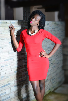 red abare back dress, what to wear to a date, decent but short dresses, little red dress, ezil, style with ezil, what to wear to collage, check outfits, elegant outfits, ezil boutique.