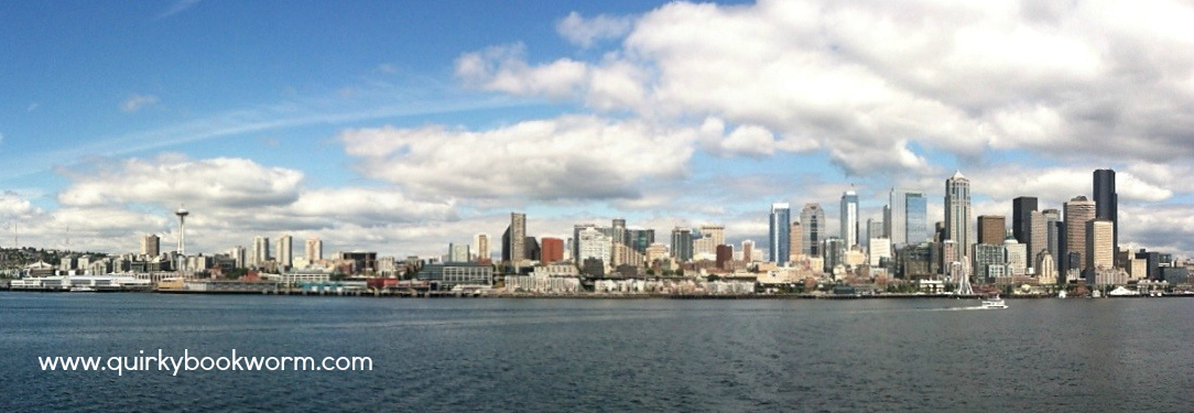 Seattle, Downtown Seattle, Space Needle, Skyline, Sunny Seattle, Seattle from Harbor, Seattle Panorama