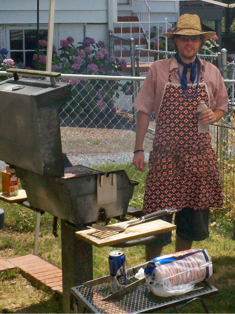 Grill Time for Dad | Navigating Hectivity by Micki Bare
