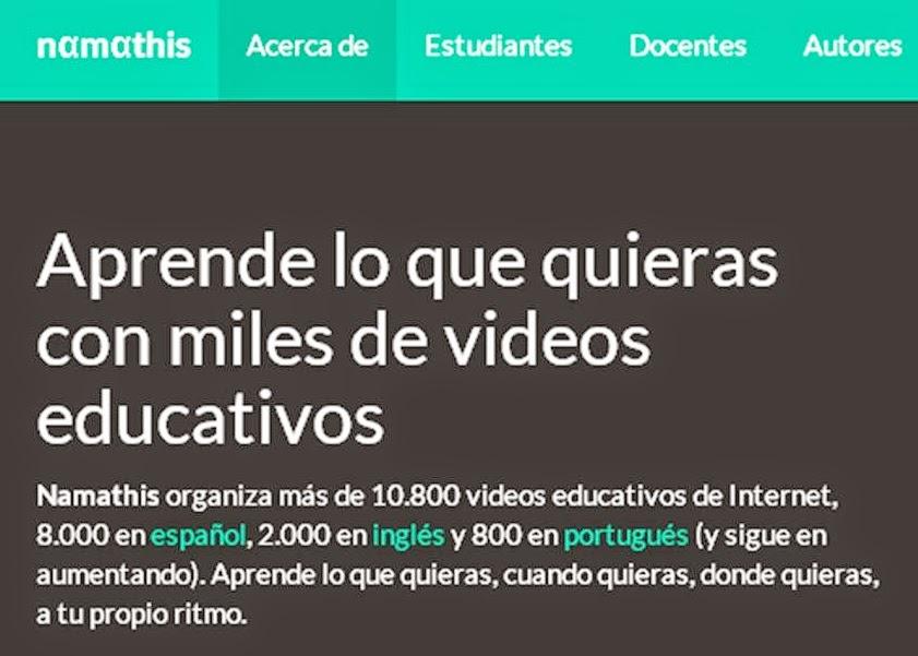 MILES DE VÍDEOS EDUCATIVOS.
