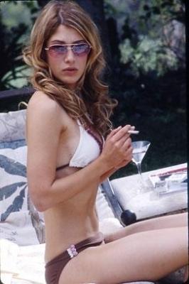 Lizzy Caplan in Bikini