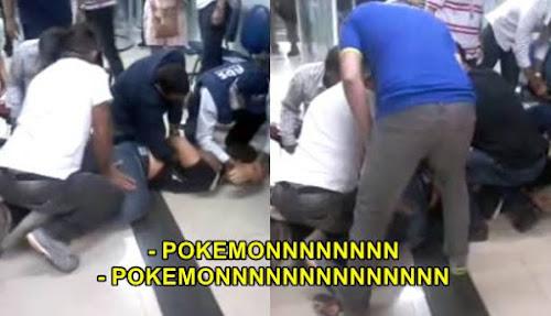 Garoto surta por causa de Pokemon e é amarrado