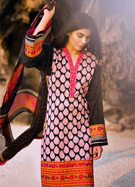 Sana safinaz new summer collection 2015