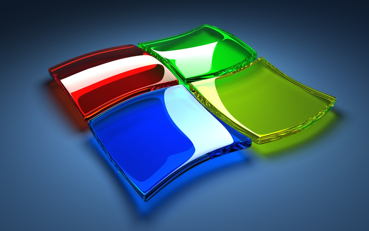 3d windows logo