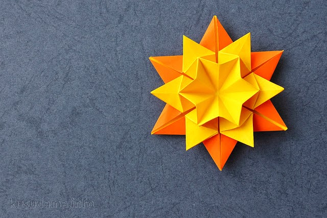 Origami Sun Moving
