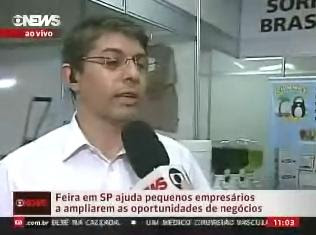 GLOBO NEWS 1º Salão do Microcrédito