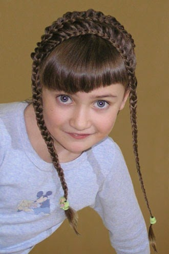 تسريحات و قصات شعر بنات اطفال