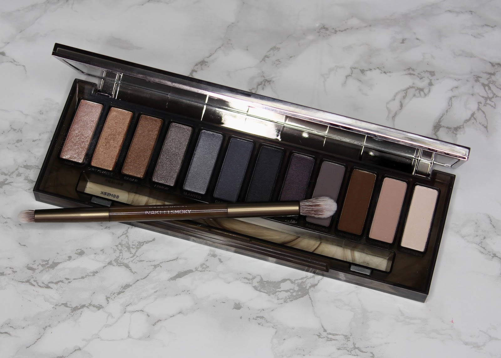 Urban Decay Naked Smoky Palette Review And Giveaway Flutter Eyeshadow Now Onto The Newest Of This Dynasty