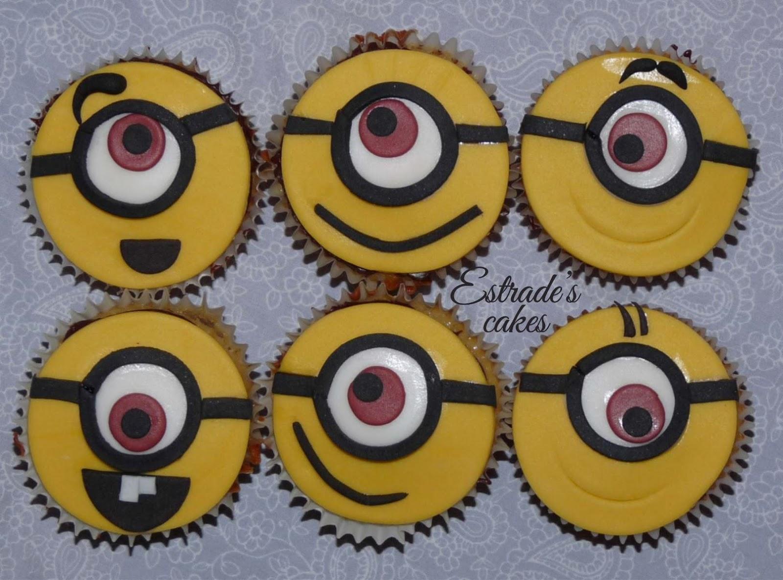 cupcakes de minions - 4