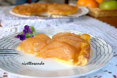 Tarte tatin ricetta dolce