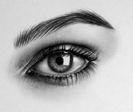 Гиперреалистичные черно-белые рисунки  Илеаны Хантер