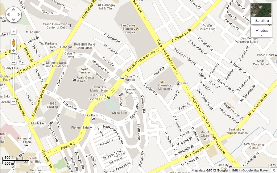 GDG Philippines: Congratulations to the Map Your Town Competition ...