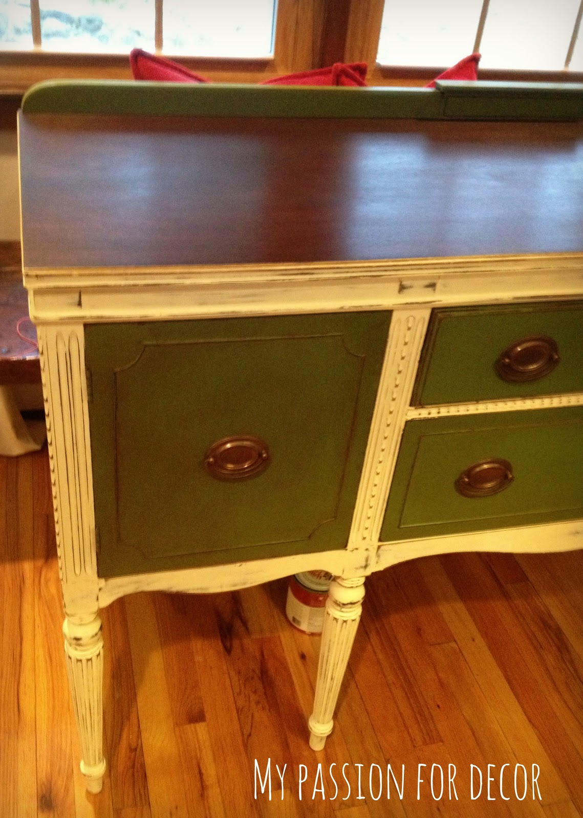 My passion for decor happy camper buffet for Sideboard qr