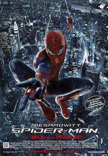 film niesamowity spiderman plakat