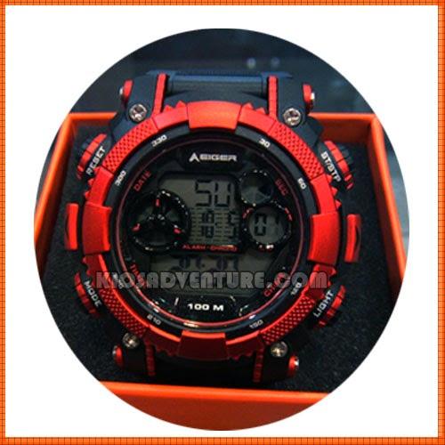 Jam Eiger IYW0097 LCD Watch